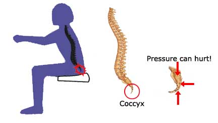 Coccyx pain at the anus consider, that