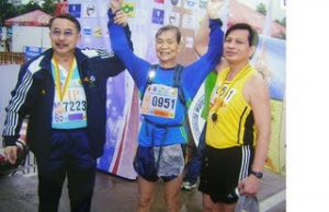 Oldest Marathon Runner - Mr. Chan Meng Hui